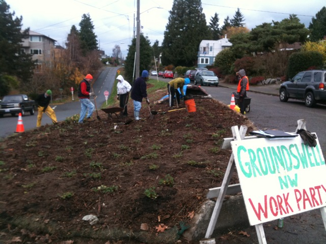 DECEMBER 2011 PLANTING PARTY
