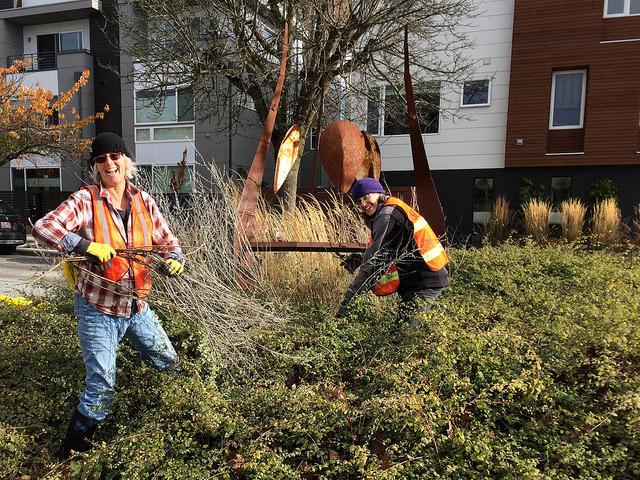 2017 Fall East Ballard Community Association clean-up day @ Gemenskap Park