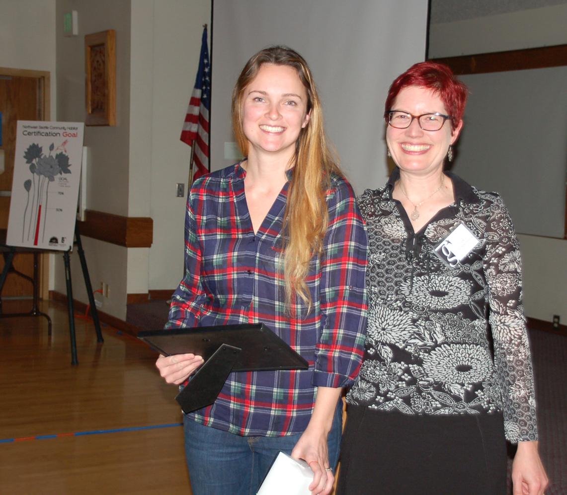 Dawn Hemminger (right)