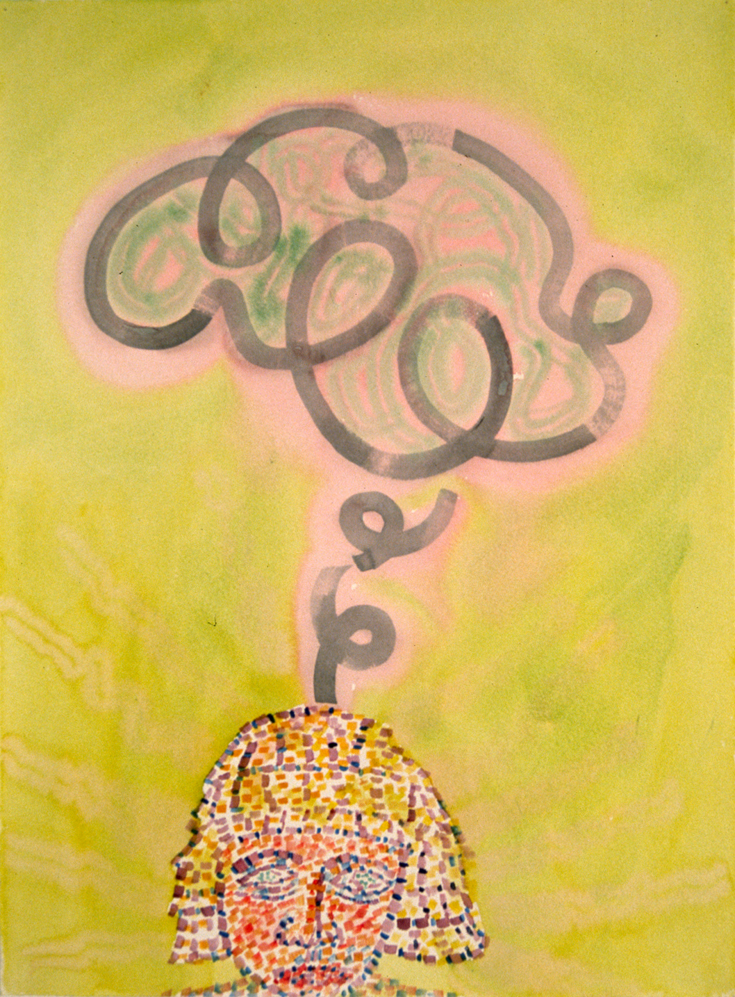 """A Thought , 30x22"""",2002"""