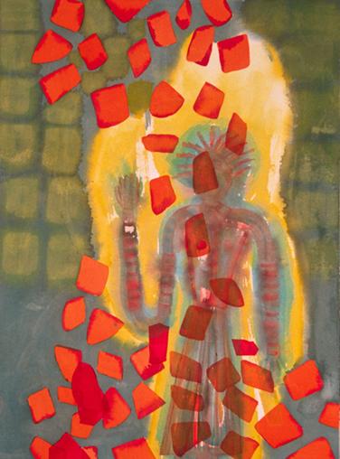 """In September, 40x30"""", 1999"""