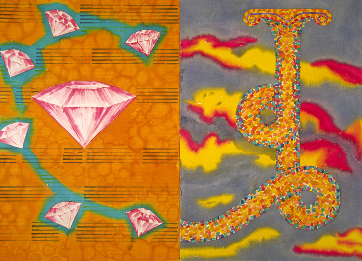 "Nocturne, 54x72"", 1997"