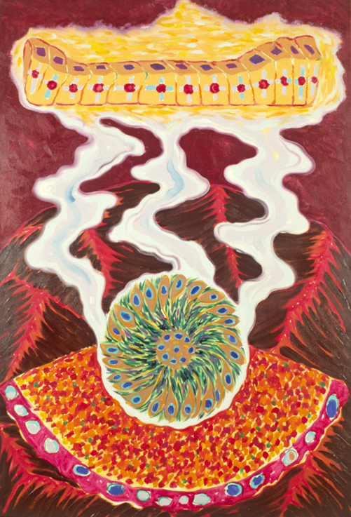 """Smoke Gets In Your Eyes, 76x52"""", 1989"""