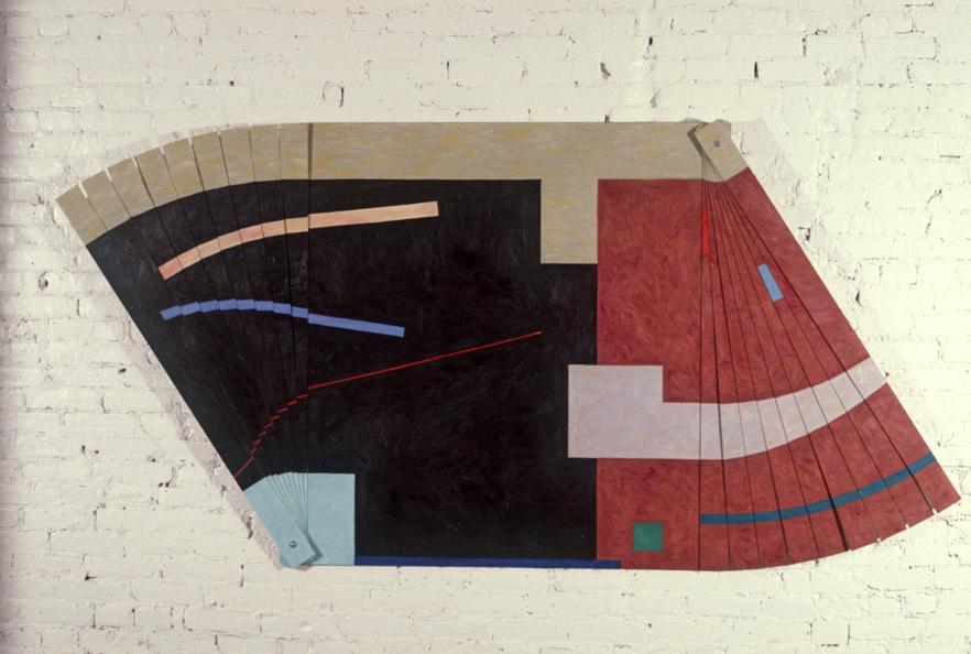 "Drunken Boat, 48x96"", 1979"
