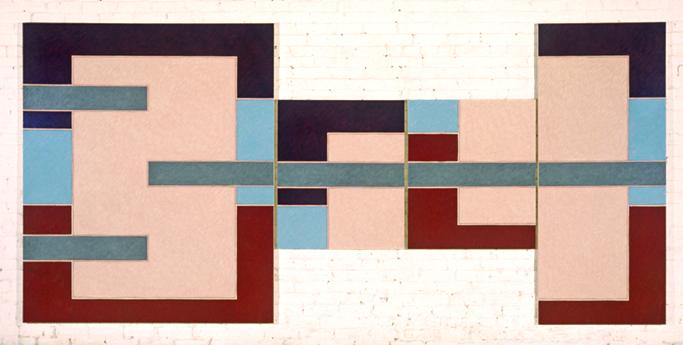 "Anatomy Lesson, 72x144"", 1977"