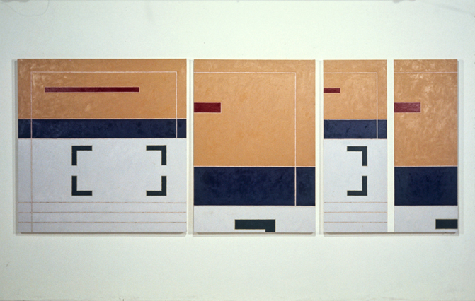 Painting for Ornette, 52x126, 1976