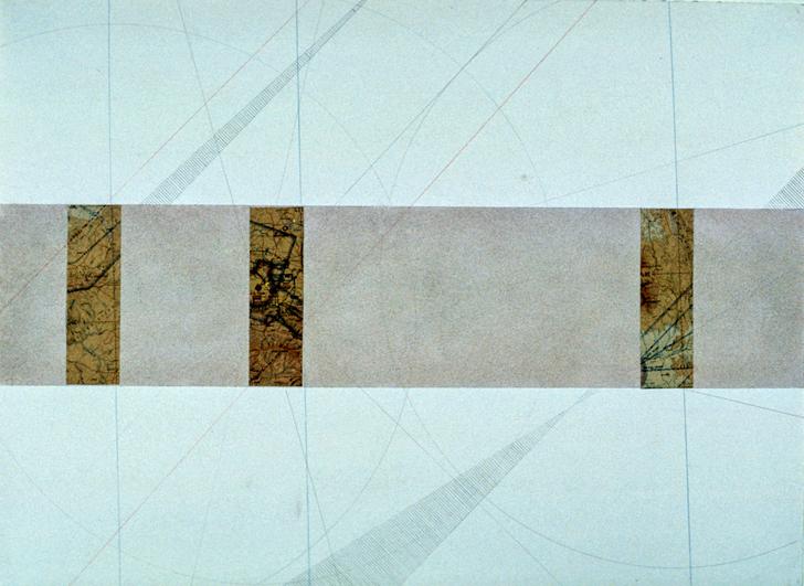 "Untitled Plan, 22x30"", 1975"