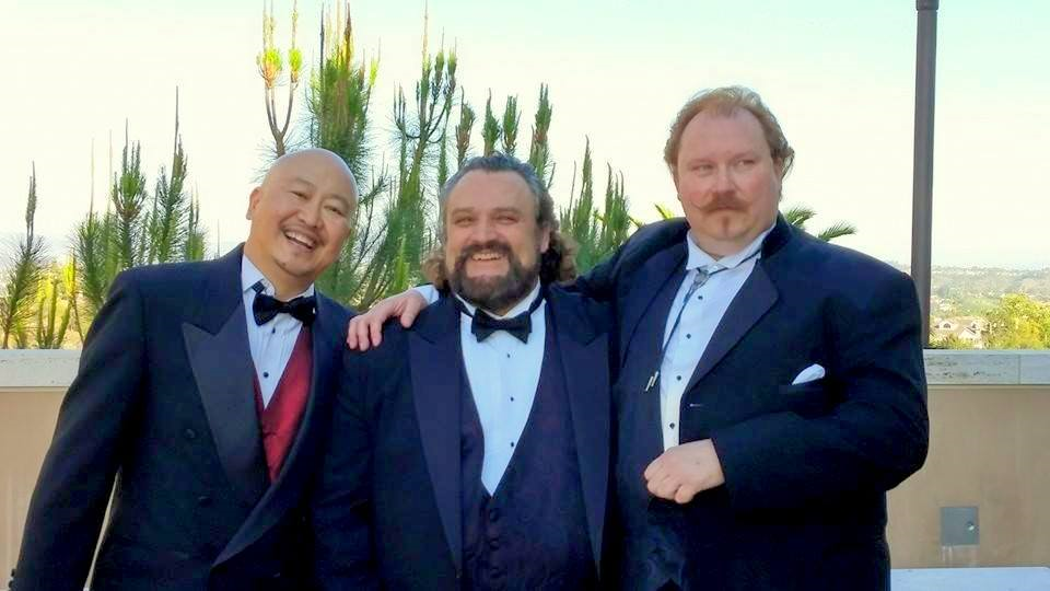 The Other 3 Tenors. Moulton is on the right.