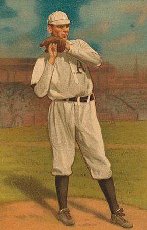 Charles Albert Bender Baseball Card, 1911