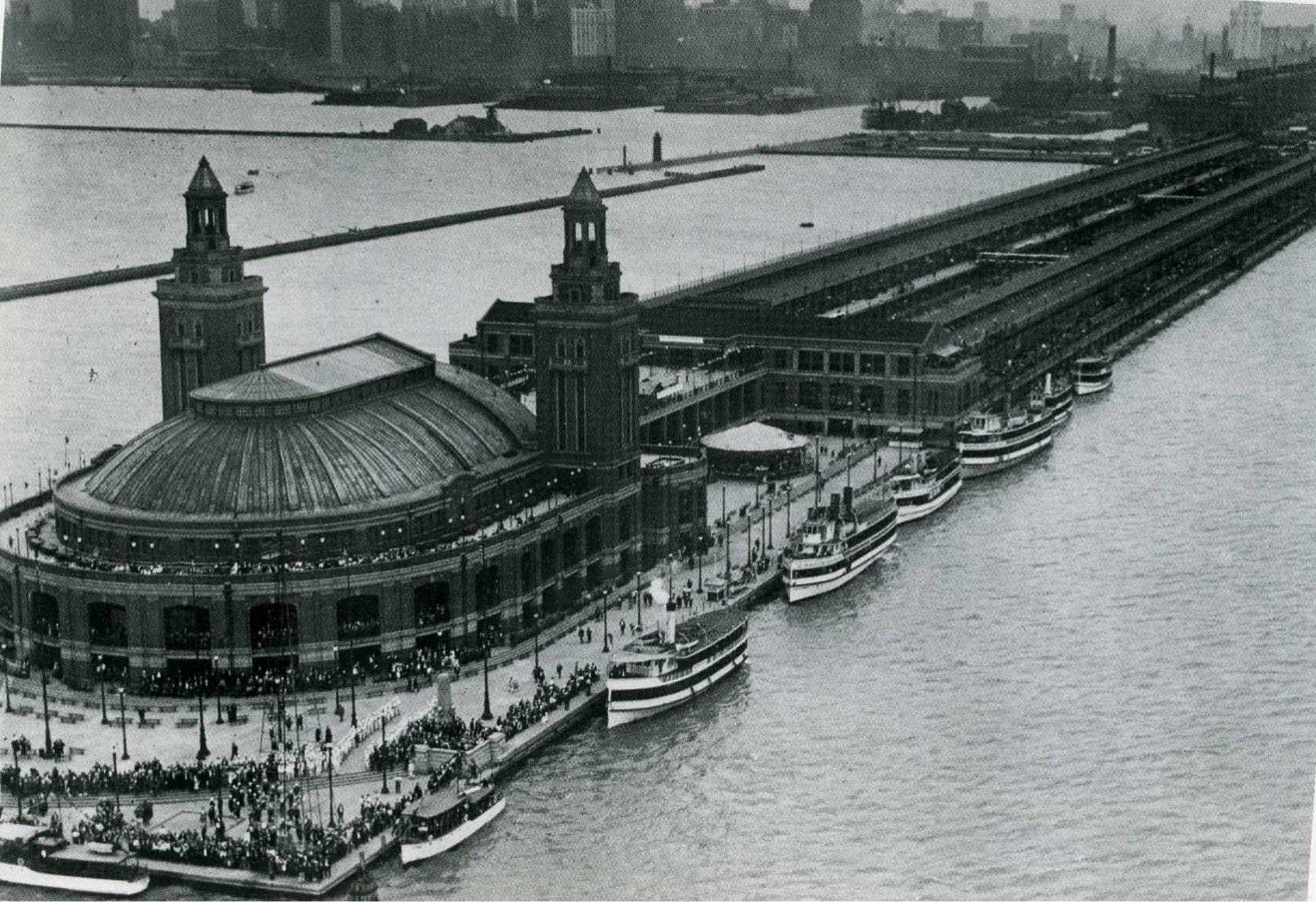 Municipal Pier, 1920
