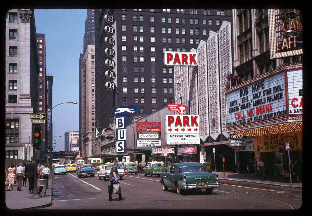 Dearborn and Randolph Streets, 1963