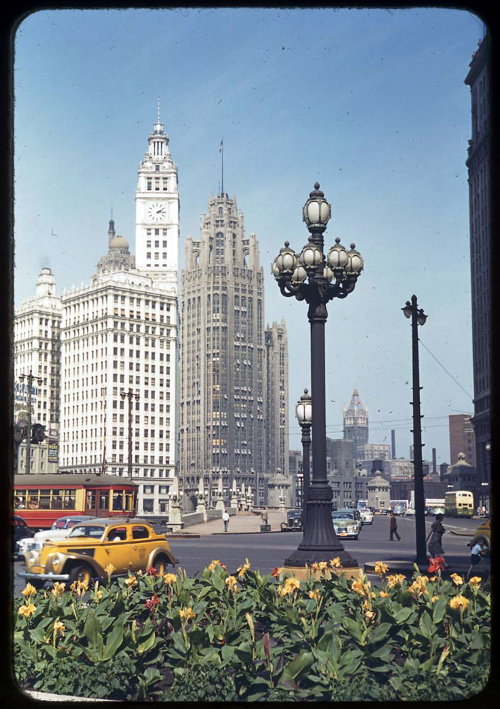 Wrigley Building, 1941.