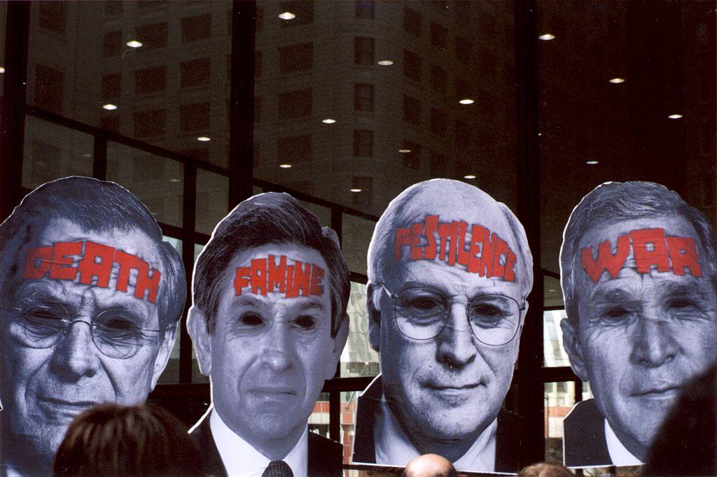 Iraq War protest, 2003