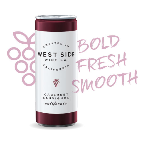 This 100% Cabernet Sauvignon from our sun-soaked California vineyards. Slightly spritzy at the start with ripe red berries on the palate and a smooth tannin finish, this Cab is sure to please! Crack a can by the fire, at your favorite camping spot, or with dinner tonight! Enjoy slightly chilled.