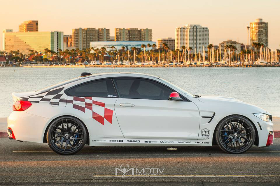 BMW M4  Motiv Wheels 409b Magellan