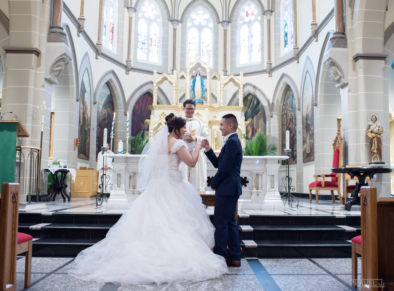 Dianne & Marvin - Feb. 17, 2017 // Wedding Ceremony Photographer: Ravel J Photo