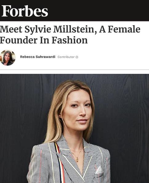 Sylvie Millstein featured on Forbes