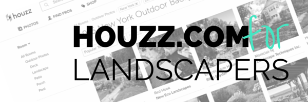 Houzz for for landscape contractors provides leadgen. Contractor marketing on Houzz is today's landscaping business card.