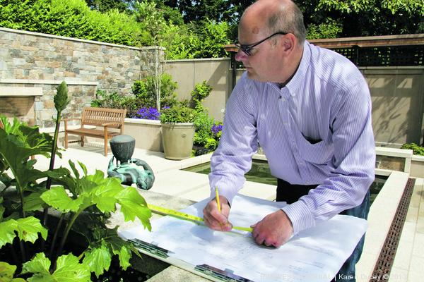 For landscape contractors/landscape construction, its tough to protect the designs they use professional landscape design software to complete.