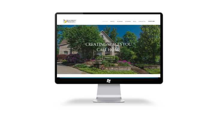 website redesign and seo content plan monthly for home remodeling and landscaping company in PA