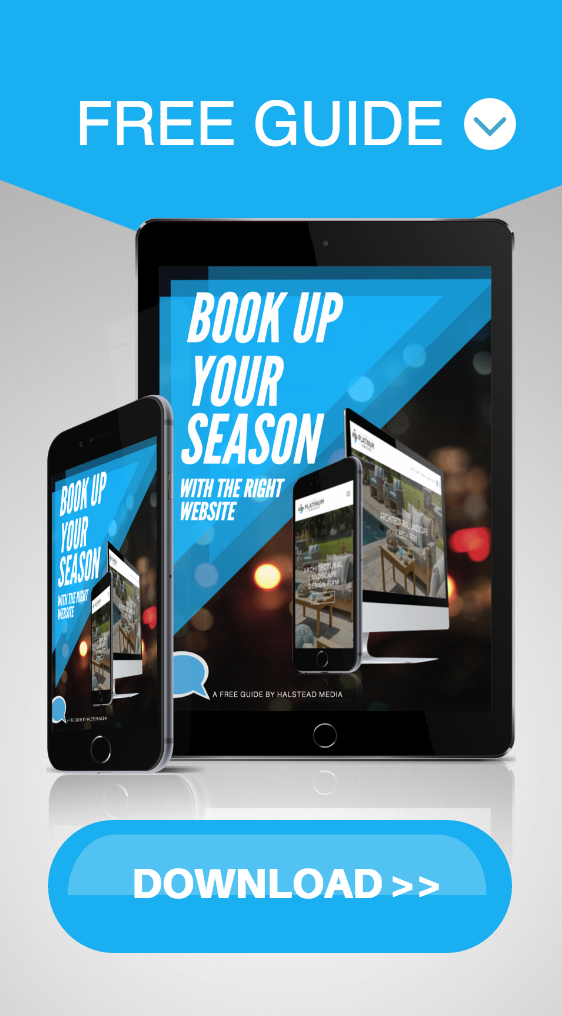 book up your season tips for landscapers and home builders