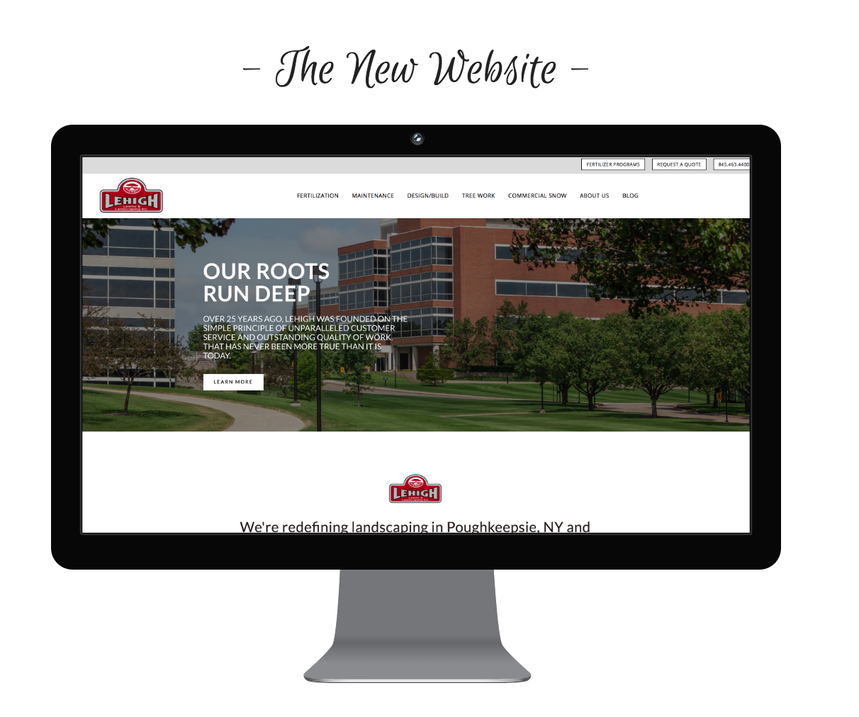 website redesign for a wappingers falls, ny