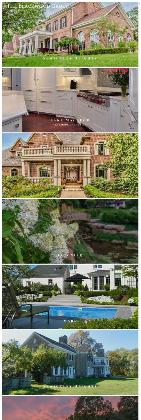 Pennsylvania website redesign for interior design and landscape company