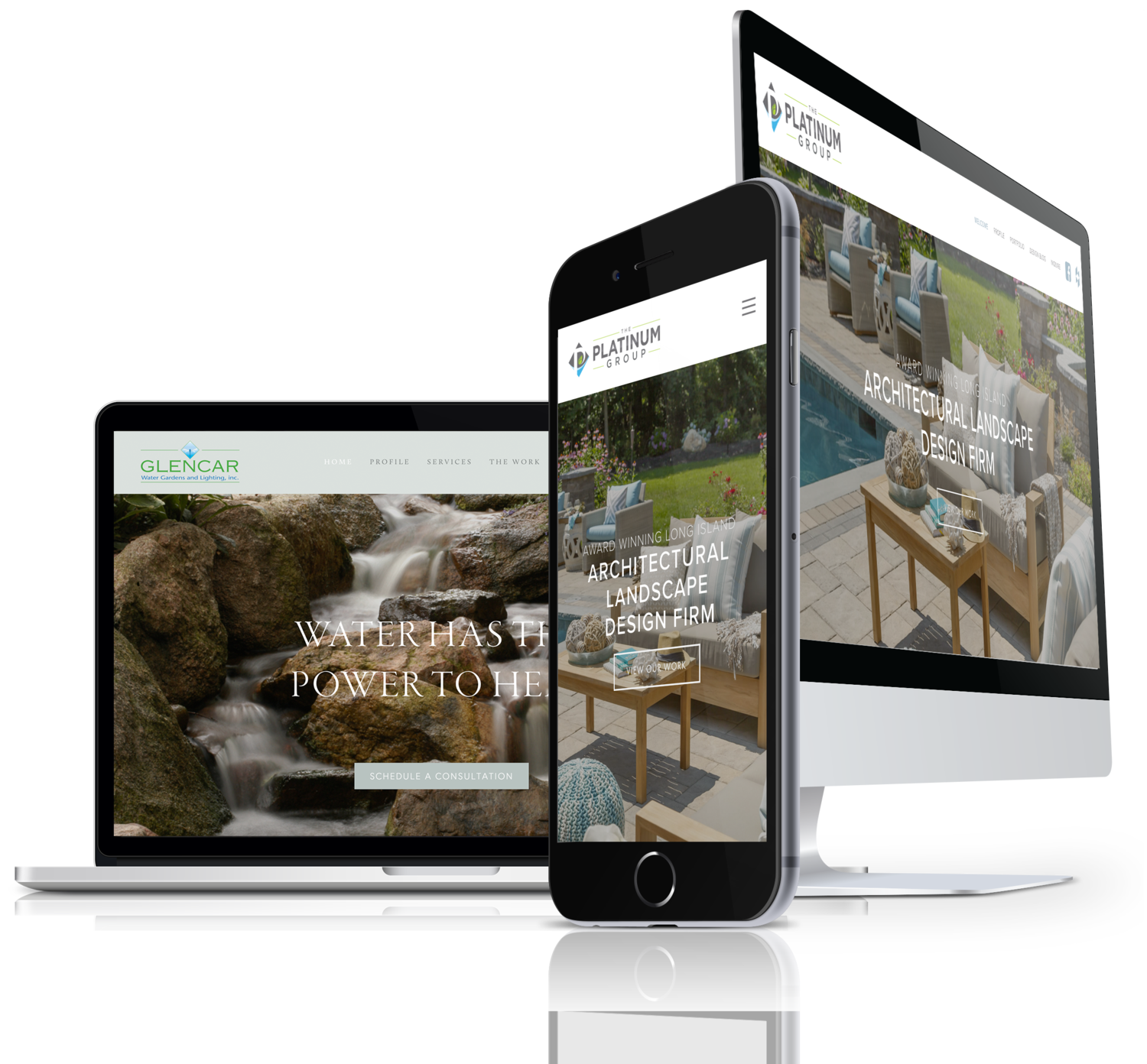 Top contractor website design in Illinois, including Chicago IL