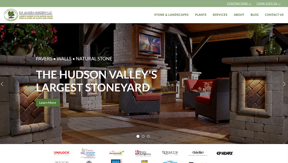 WEBSITES. MOBILE, MODERN, & YOURS. - Fully responsive, mobile-optimized, beautiful to look at, and easy to use – our websites are designed to be the face of your masonry and garden supply store. Starting at $5,200. →