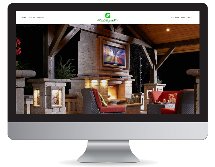 Stunning contractor website design in California