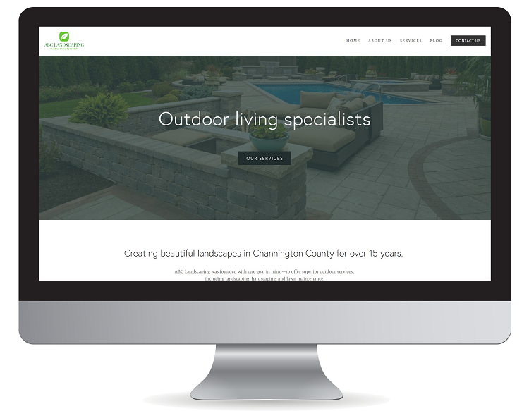 Beautiful contractor website design in New Jersey