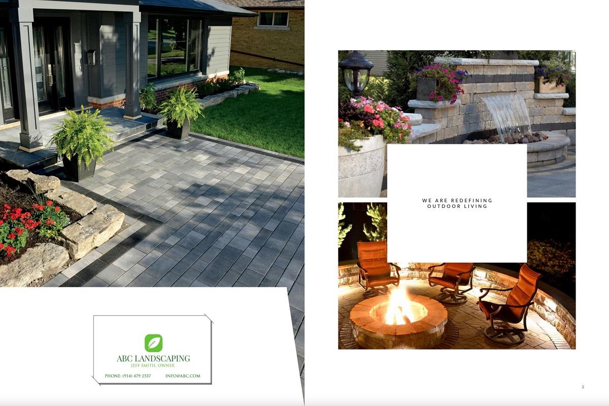 Brochure - landscape marketing in Illinois, including Chicago IL