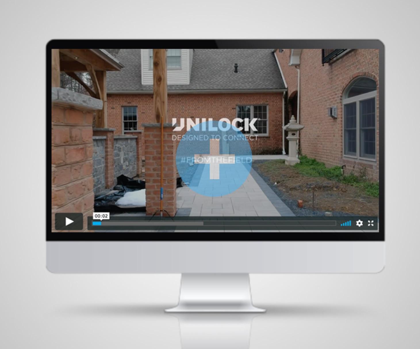 Jobsite Videography for Unilock