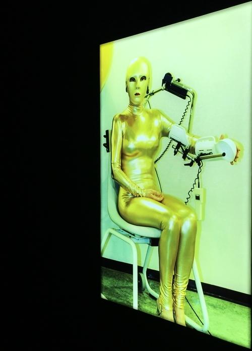 Selbstporträt in Gold, 2014 - Installation