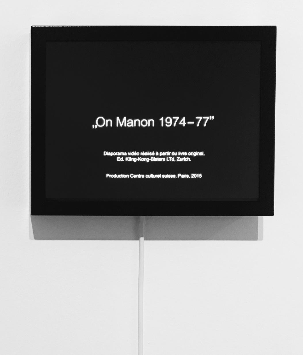 On Manon 1974-77, 2015