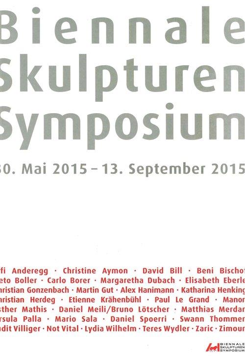 Biennale Skulpturen Symposium 2015