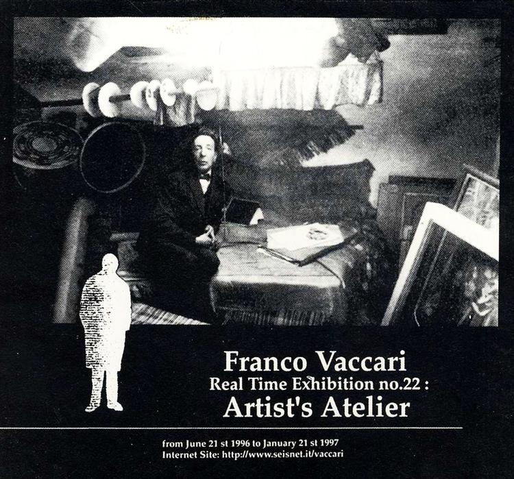 Franco Vaccari Real Time Exhibition no.22: 1997