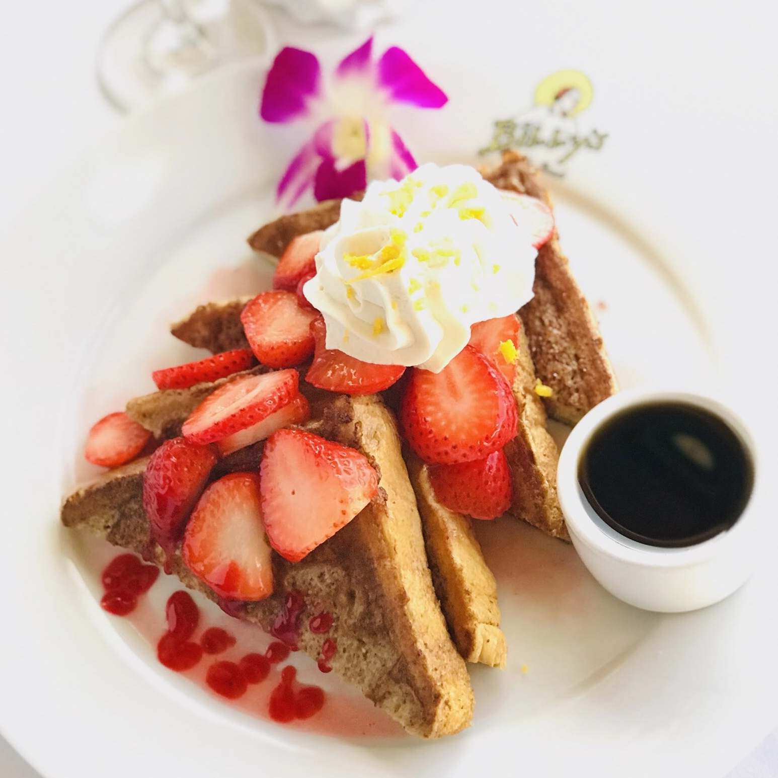 Billy's at the Beach, Newport Beach, Brunch, Strawberry Glazed French Toast.jpg