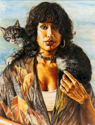 Alaiyo Bradshaw, self-portrait.
