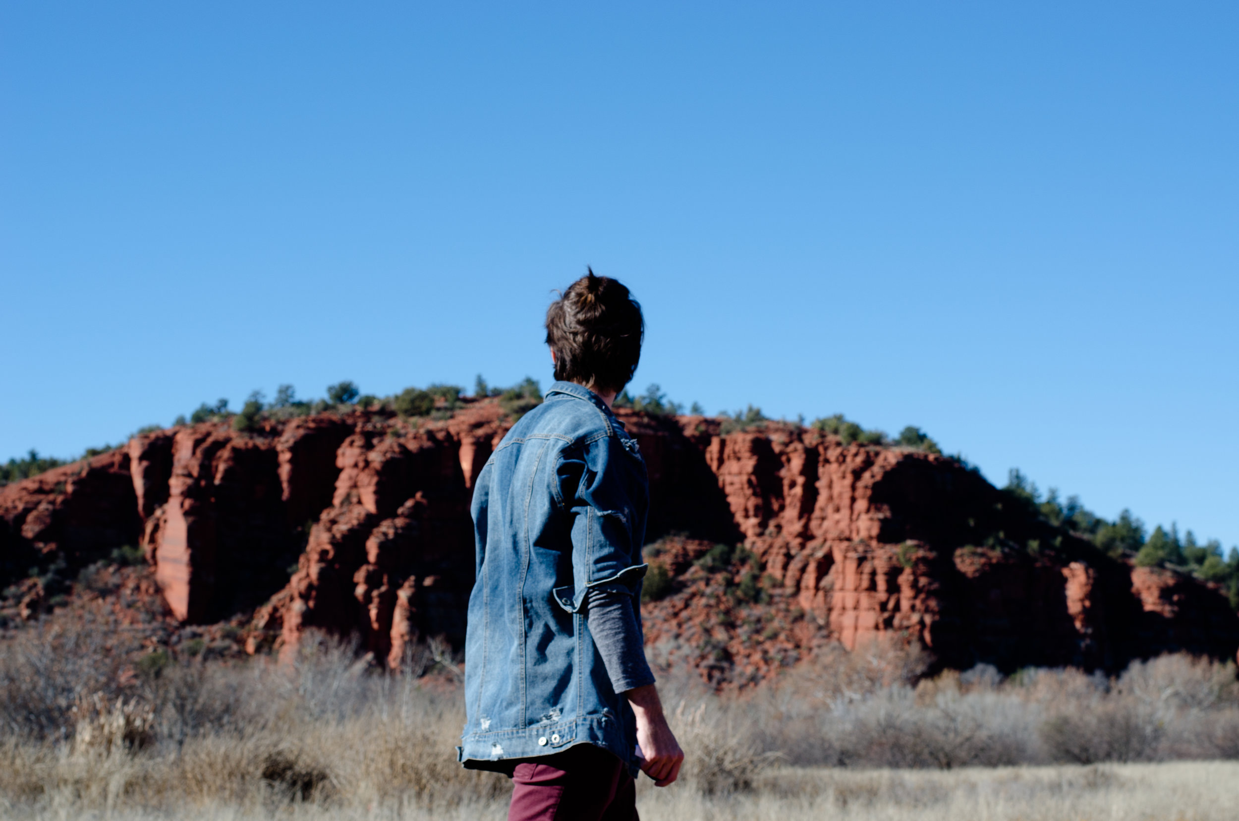 Walking around Red Rock State Park