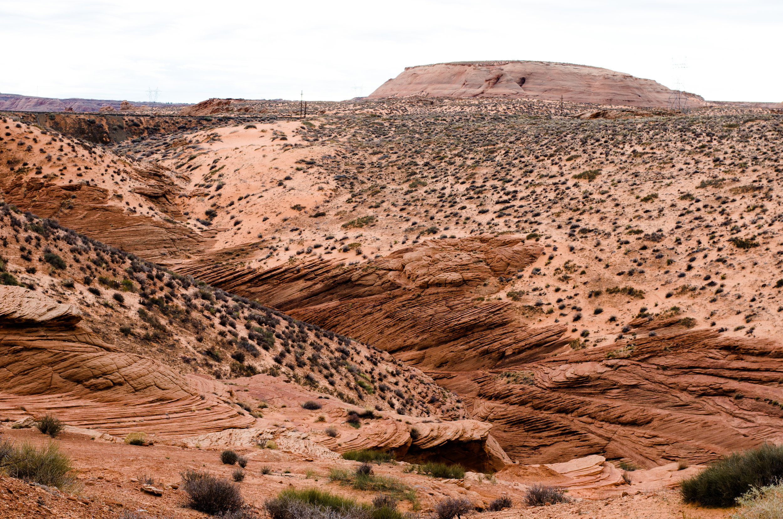 Path to Lower Antelope Canyon