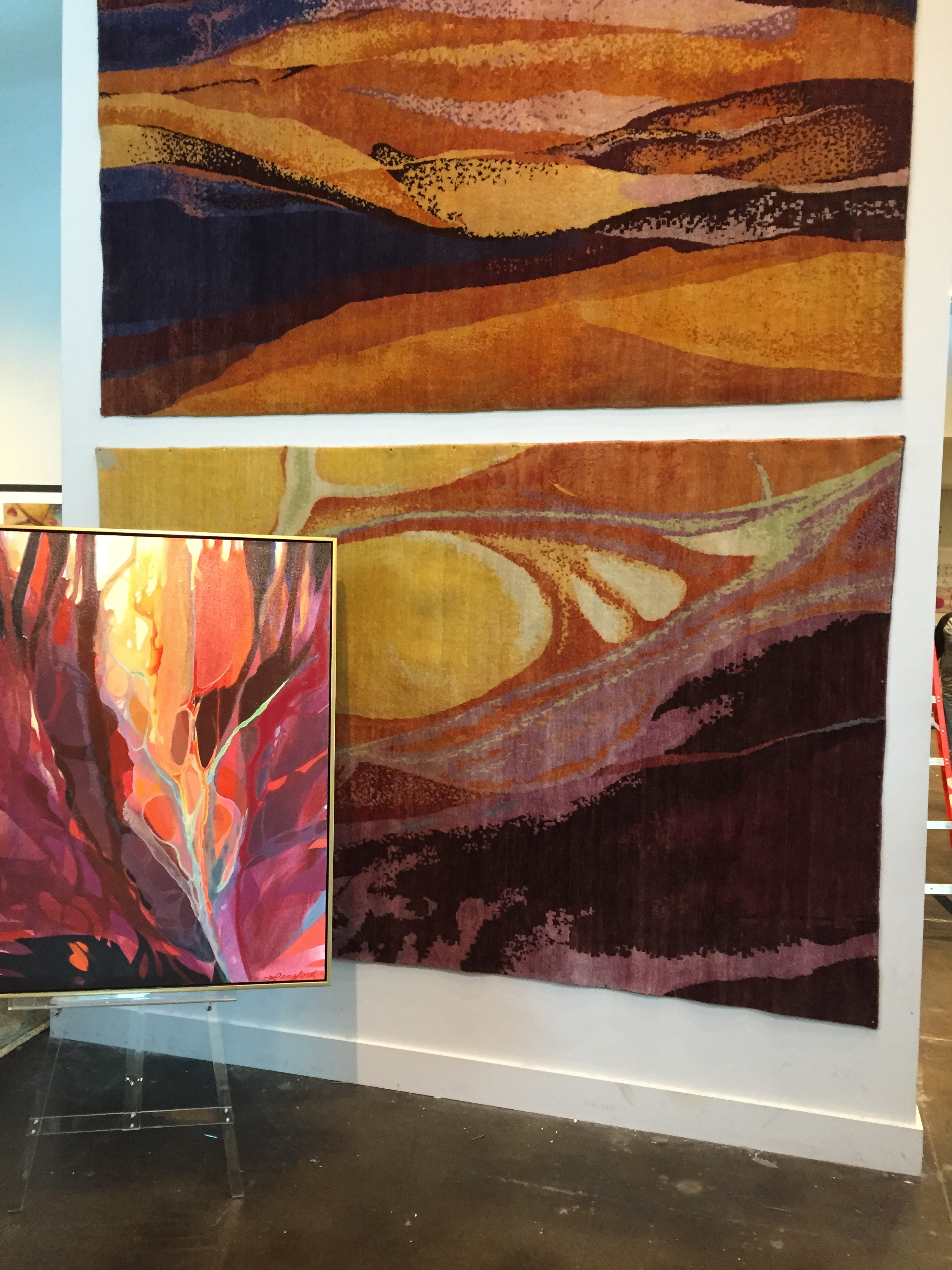 Surya Rugs with Painting-Langford-.JPG