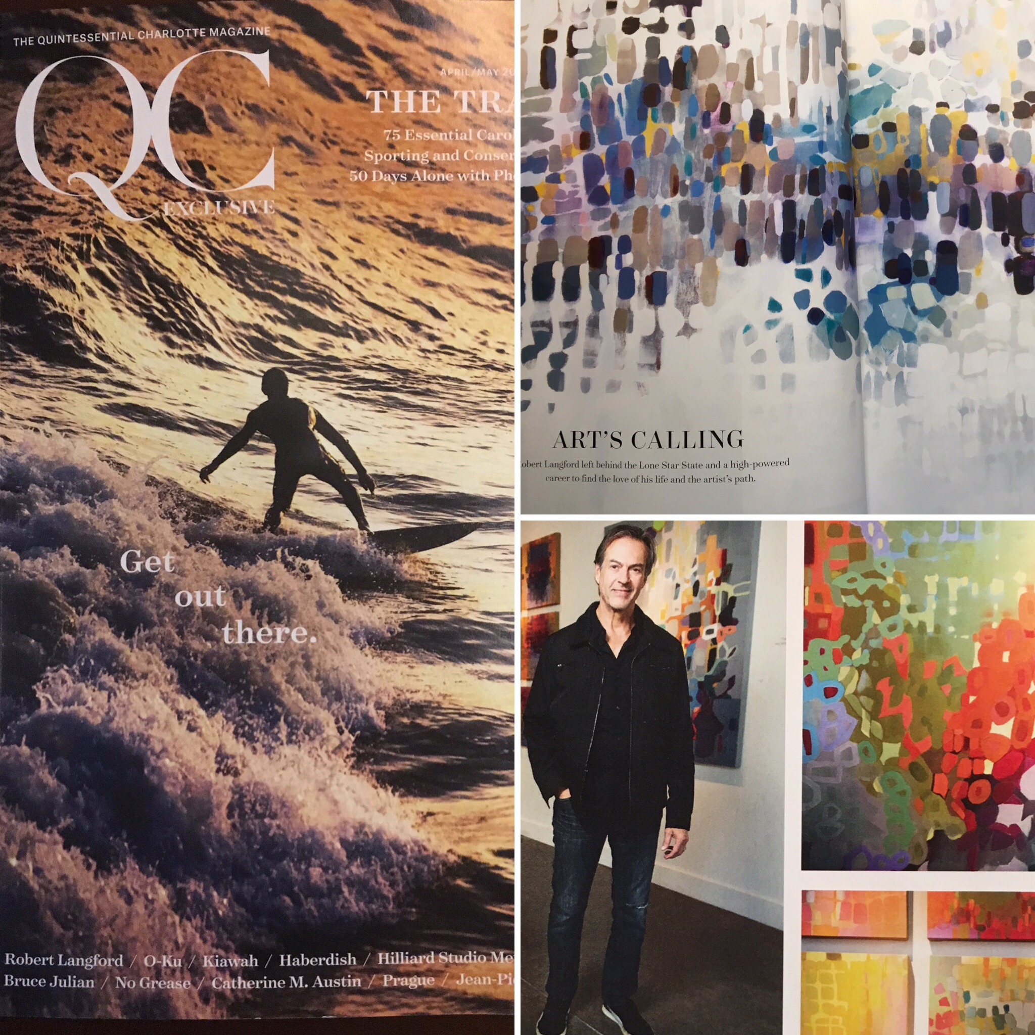QC Exclusive - Thanks to writer Sunny Hubler and photographer Jamey Price for a great article in the April/May travel issue of QC Exclusive.