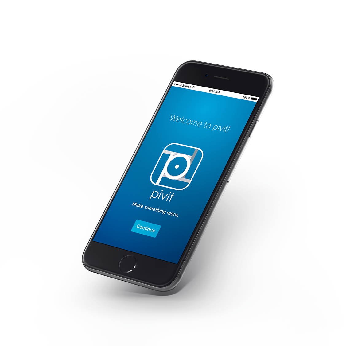 A concept rendering of the Capital One's Pivit App