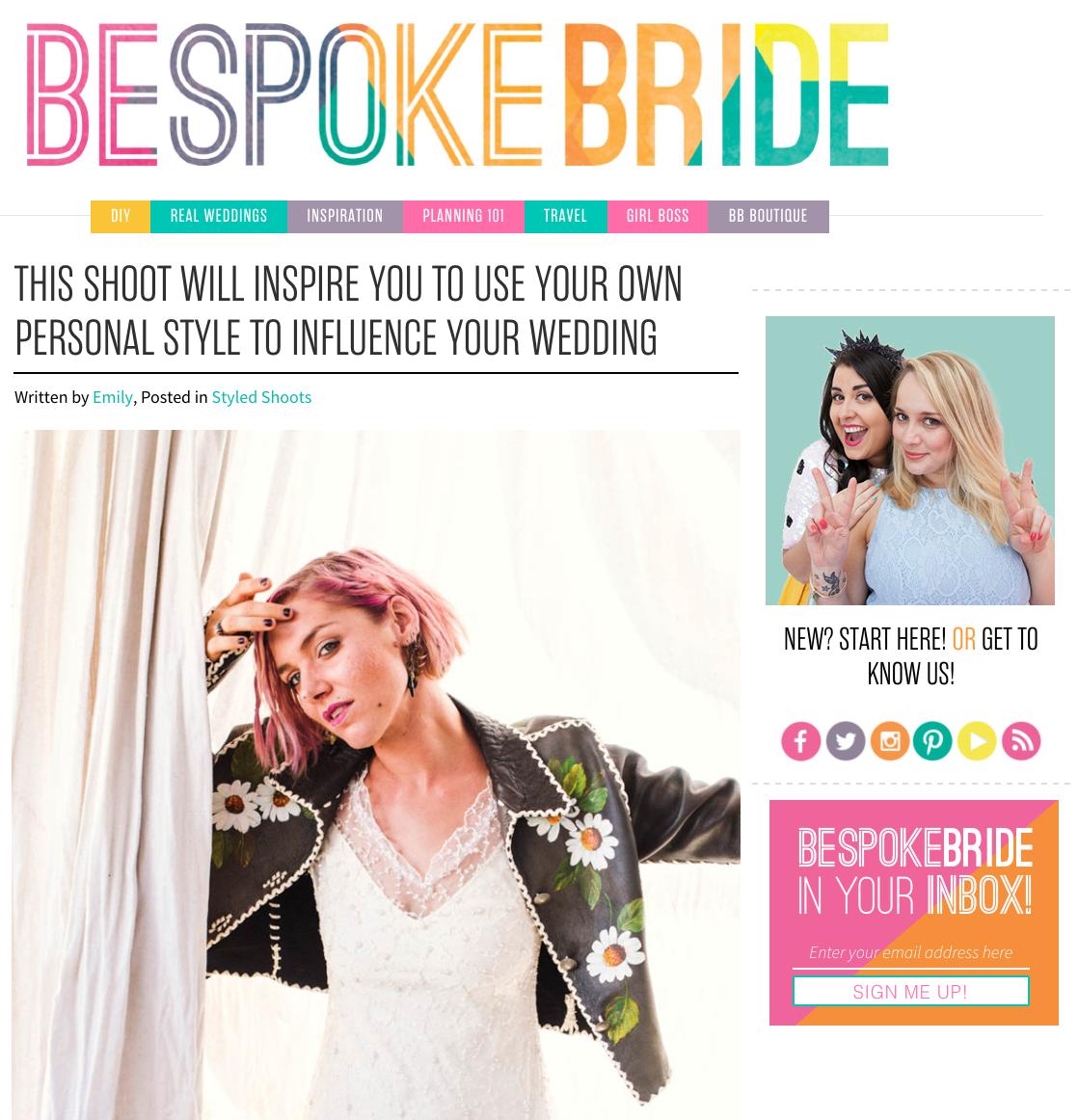 B espoke Bride - September 2016