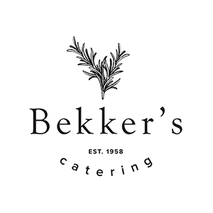 Bekker's Catering Logo by Gretchen Kamp in San Diego and Brooklyn New York City