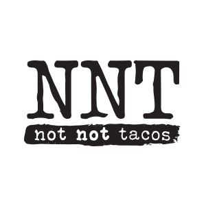 Not Not Tacos Logo by Gretchen Kamp in San Diego, California
