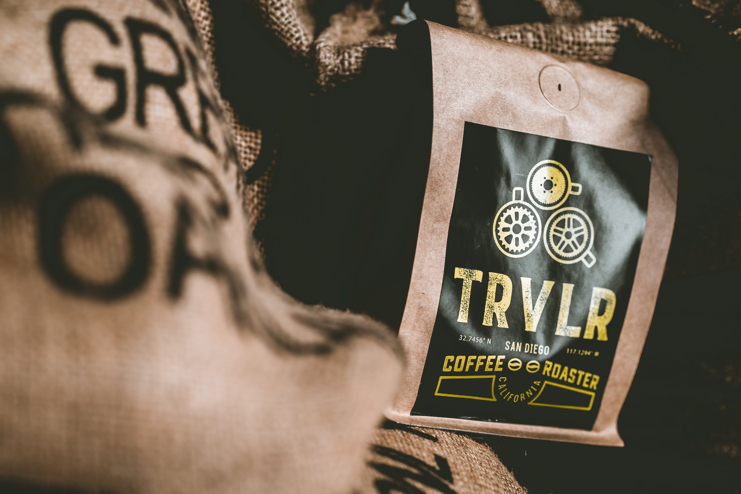 Brand Photography by Gretchen Kamp & Co. for TRVLR Coffee Roaster