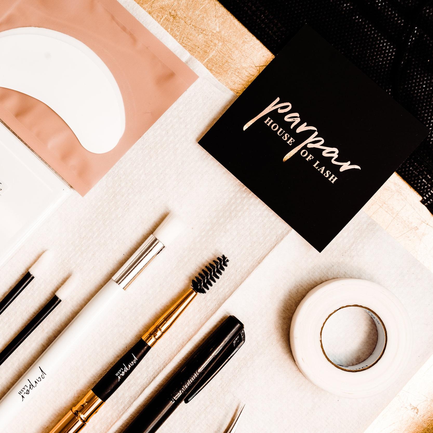 Parpar House of Lash  // Brand Identity & Brand Photography