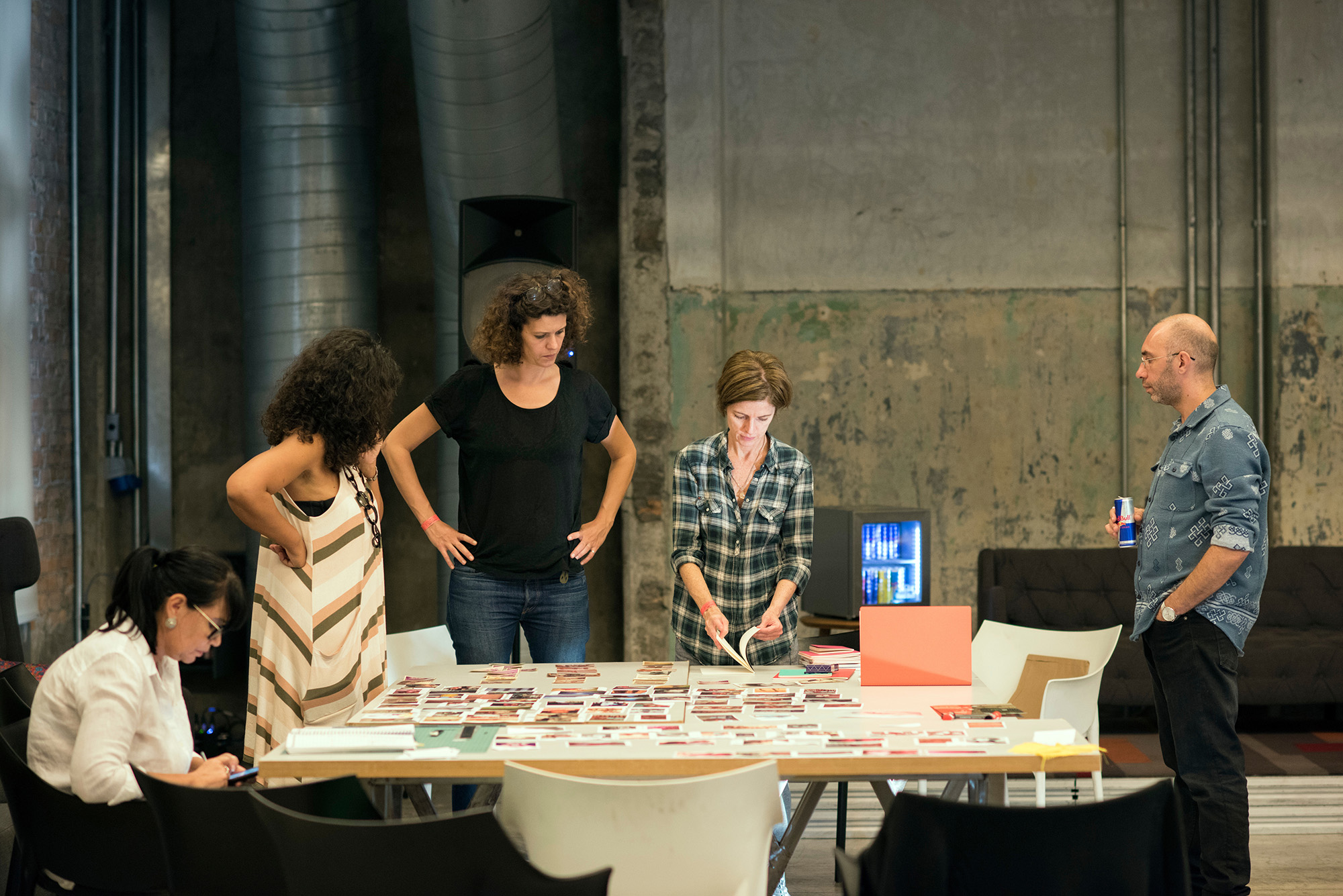 """Co-curator of Foto Invasão, a photo festival with installations, projections, collective exhibition, debates, workshops, prints fair 